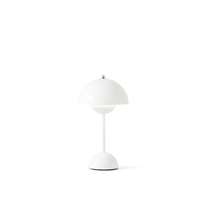 &Tradition Flowerpot VP9 Table Lamp Portable White