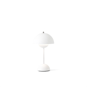 &Tradition Flowerpot VP9 Table Lamp Portable Matt White