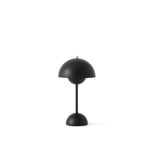 &Tradition Flowerpot VP9 Table Lamp Portable Matt Black