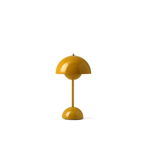 &Tradition Flowerpot VP9 Table Lamp Portable Mustard Yellow
