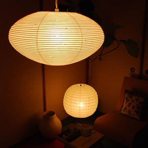 Asian inspiration: Rice paper lamps