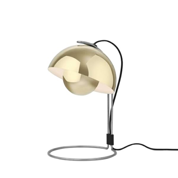 &tradition Flowerpot VP4 Table Lamp Polished Brass