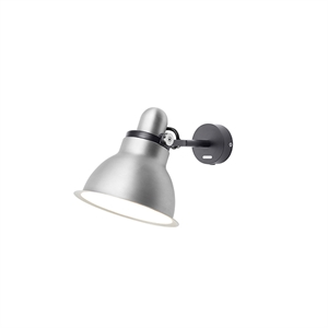 "Anglepoise Type 1228â""¢ Metallic Wall Light Silver Lustre"