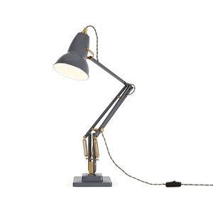 "Anglepoise Original 1227â""¢ Brass Table Lamp Elephant Grey"