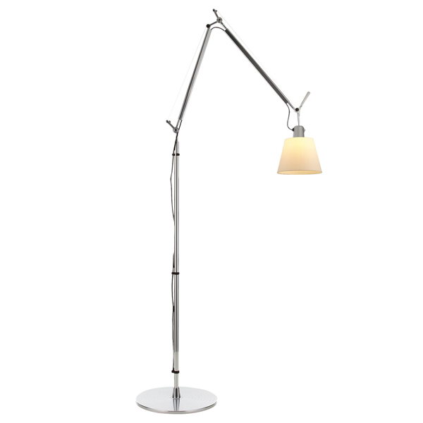 artemide tolomeo basculante floor lamp parchment free shipping. Black Bedroom Furniture Sets. Home Design Ideas