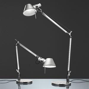 Artemide Tolomeo Mini Table Lamp Aluminium