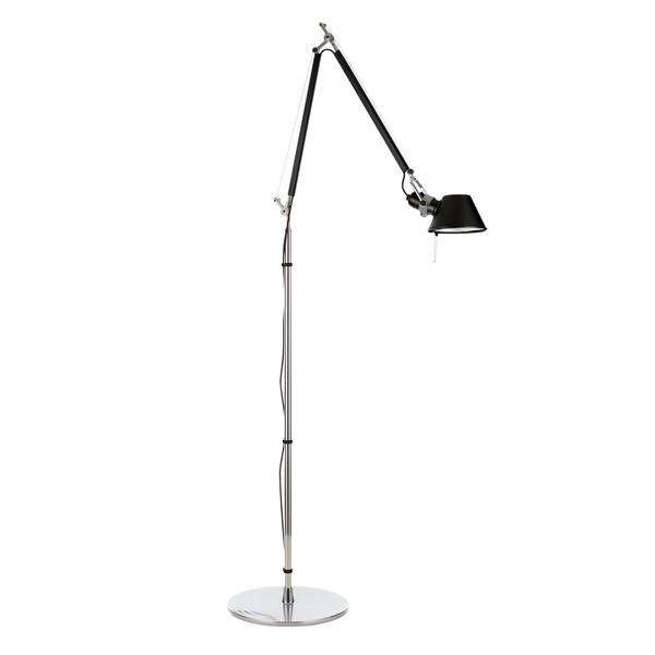 artemide tolomeo floor lamp black free shipping. Black Bedroom Furniture Sets. Home Design Ideas
