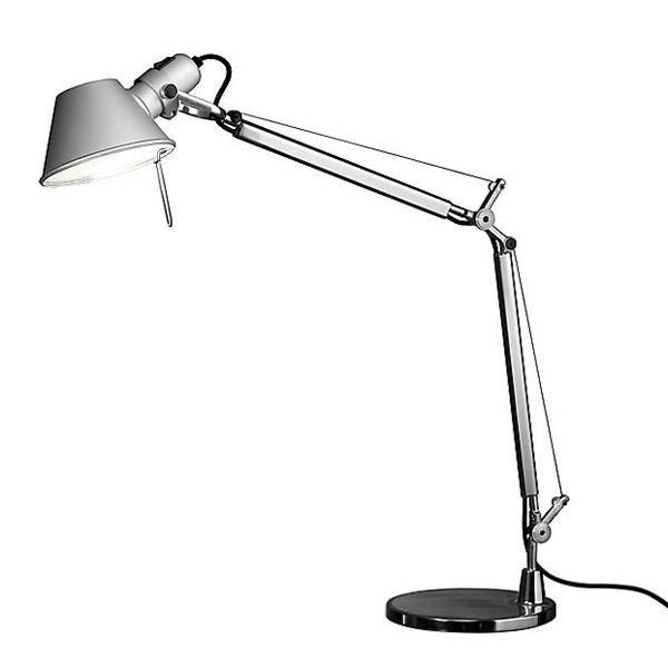 Tolomeo Table Aluminium Mini Lamp Artemide LED H2IYD9eEW
