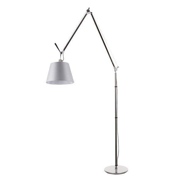 artemide tolomeo mega floor lamp satin 32 cm w dimmer free shipping. Black Bedroom Furniture Sets. Home Design Ideas