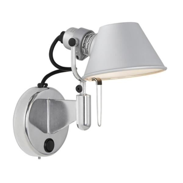 Artemide Tolomeo Micro Faretto LED Wall Lamp without Switch