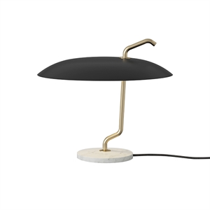 Astep Model 537 Table Lamp Black/White