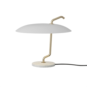 Astep Model 537 Table Lamp White/White