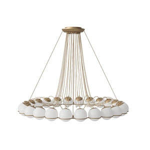 Astep Model 2109/24/14 Ceiling Light Champagne