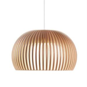 Secto Atto 5000 Pendant Walnut