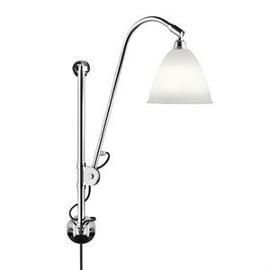 Bestlite BL5 Wall Lamp Chrome & Porcelain