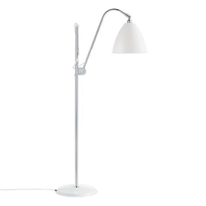Bestlite BL3M Floor Lamp Mat White & Chrome