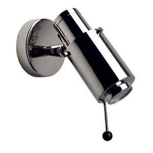Biny 243 Wall lamp Nickel w. LED