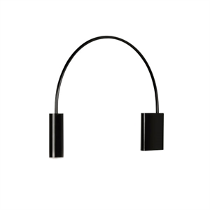 Estiluz Volta Wall lamp Black Small