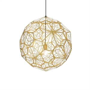 Tom Dixon Etch Web Brass Pendant EU