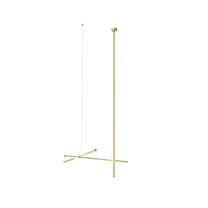 Flos Coordinates C1 L Long CLIII Ceiling Light Gold