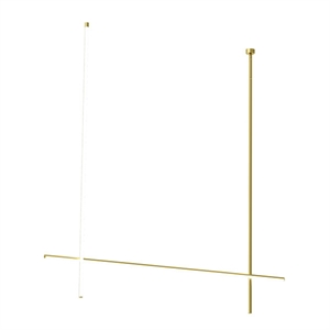 Flos Coordinates C2 - CLIII Ceiling Light Gold