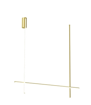 Flos Coordinates C2-L Ceiling Light Gold