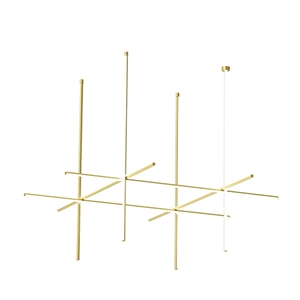 Flos Coordinates C4 - CLIII Ceiling Light Gold