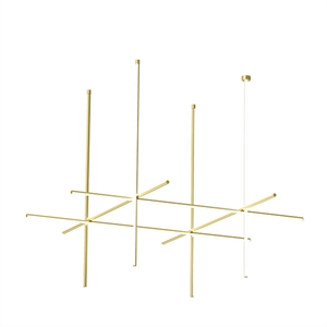 Flos Coordinates C4L - CLIII Ceiling Light Gold