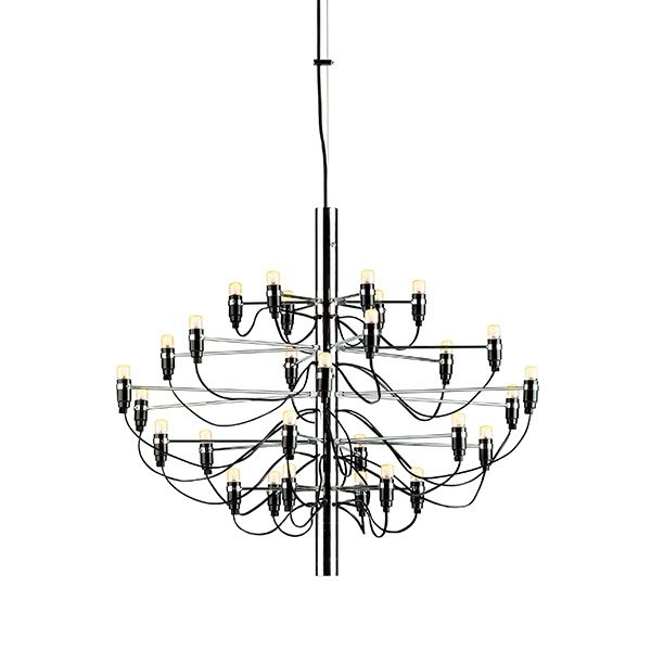Flos 2097 Pendant Small Chrome w. LED