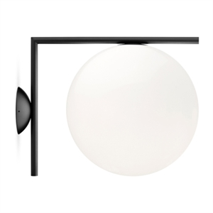 Flos Wall Lamp IC C/W2 Matt Black