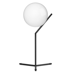 Flos IC T1 Table Lamp Matt Black Høj