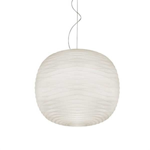 Foscarini Gem Pendant with dimmer White