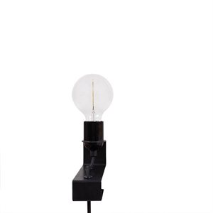 FRAMA AML Wall Lamp w. Clamp Black