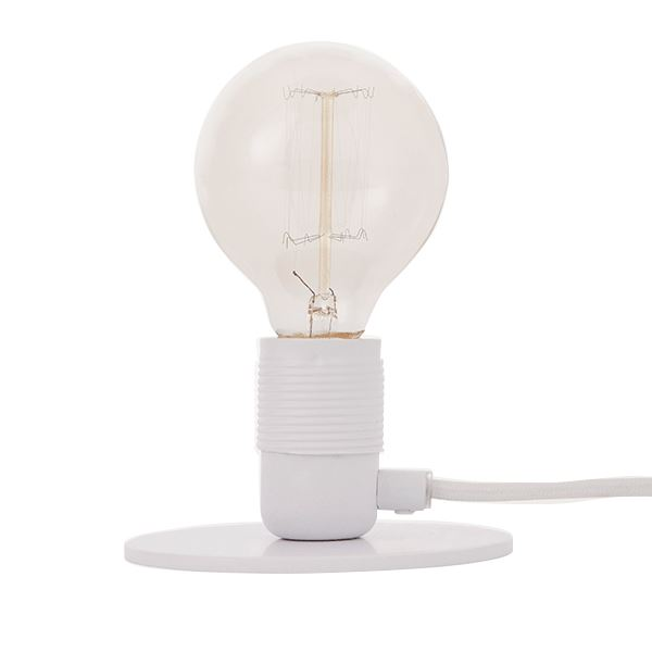 FRAMA E27 Table Lamp White