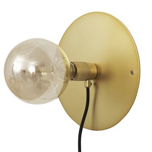 FRAMA E27 Wall Lamp Brass Medium