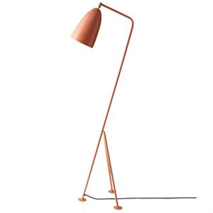 GUBI Grossman Collection Grässhoppa Floor Lamp Red