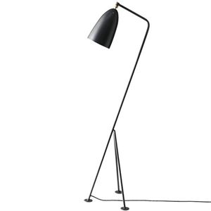 GUBI Grossman Collection Grässhoppa Floor Lamp Anthracite  Grey