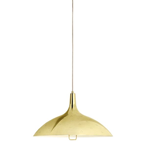 GUBI Tynell Collection 1965 Pendant Brass