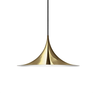 GUBI Semi Pendant Small Brass