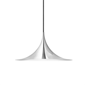 GUBI Semi Pendant Small Chrome