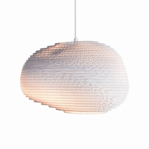 Graypants Scraplight Alki Pendant White