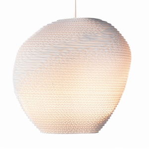 Graypants Scraplight Allyn Pendant White