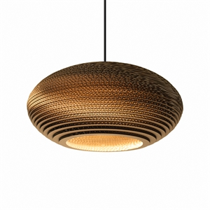 Graypants Scraplight Disc Pendant