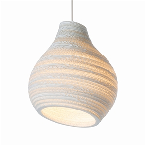Graypants Scraplight Hive Pendant White