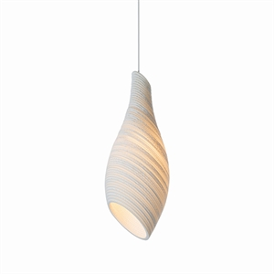 Graypants Scraplight Nest Pendant White