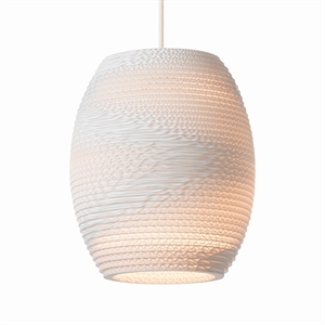 Graypants Scraplight Oliv Pendant White