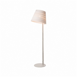 Graypants Scraplight Tilt Floor Lamp White