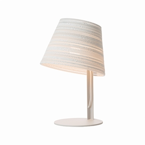 Graypants Scraplight Tilt Table Lamp White