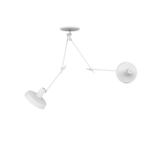 Grupa Products Arigato Double Ceiling Lamp White