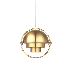 GUBI Multi-Lite Pendant Small Brass
